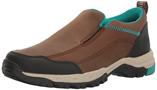 Ariat Women's Skyline Slip-on Hiking Shoe, Taupe, 9 B US