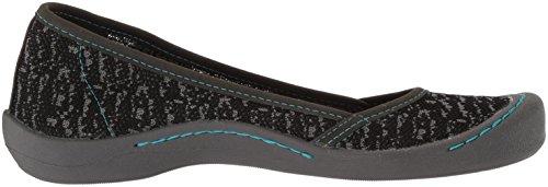 Muk Luks Womens Sand Shoes Sneaker Nero
