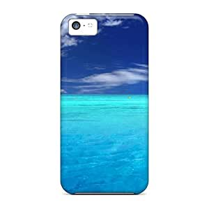 Fashion Protective Blue Paradise Case Cover For Iphone 5c