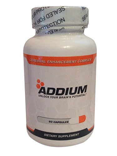Addium - Limitless Pill - the Most Powerful Brain Enhancer in the World 60 caps (Pills Supplement 60 Caps)