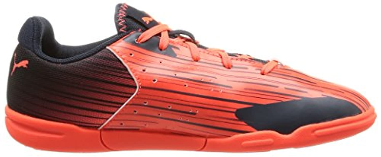 Puma Unisex Kids' Meteor Sala LT Jr Football boots (training) Orange Size: 3 UK