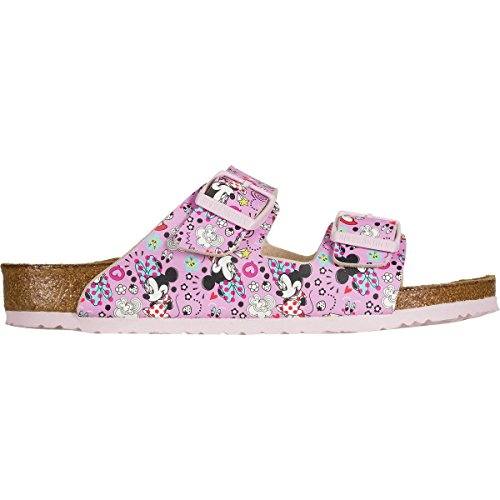 Birkenstock Kids Baby Girl's Arizona (Toddler/Little Kid/Big Kid) Lovely Minnie Rose Birko-Flor Sandal