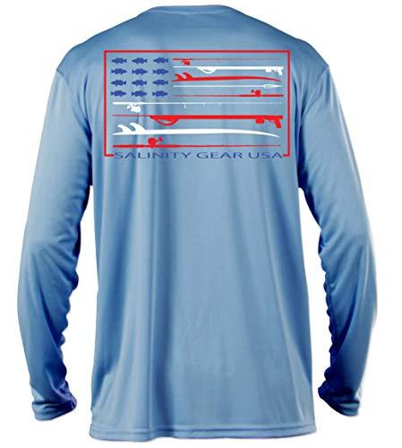 Salinity Gear Performance Fishing Shirt- UPF 50+