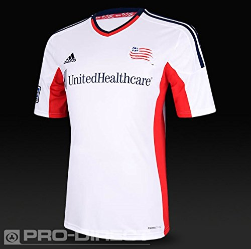 MLS New England Revolution Replica Away Jersey, Large, (England Away Jersey)