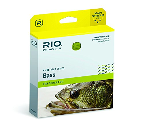 9wt Lines (RIO Mainstream Bass/Pike/Panfish 9wt WF9F Weight Forward Floating Fly Line (Yellow))