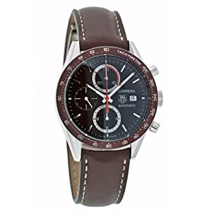 TAG Heuer Men's CV2013.FC6206 Carrera Automatic Chronograph Leather Watch