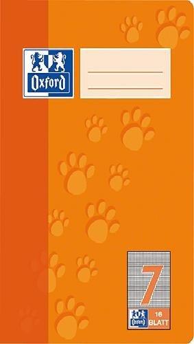 Oxford 100050409 Heft A5 / 16 Blatt Lineatur 7 385501607/100050409