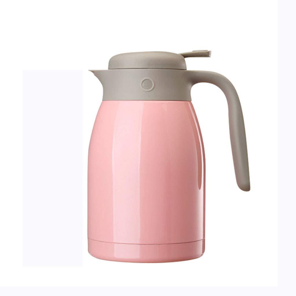 WLHW Trinkflaschen Vakuumisolierungs-Topf, 1.5L Edelstahl-Hausgebrauch 304 für Kaffee-Tee-Milch-Vorrat-Doppelwand Isolierheißes Kaltes