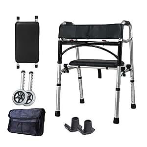 Amazon.com: III personas mayores Walker/Andador Walk soporte ...