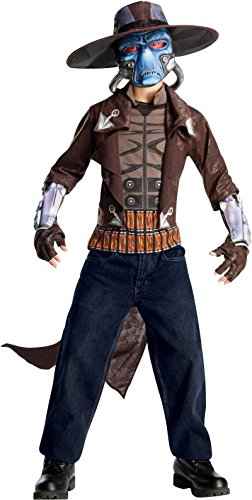 Rubies Clone Wars Cad Bane Outfit Kids Bounty Hunter Costume L]()
