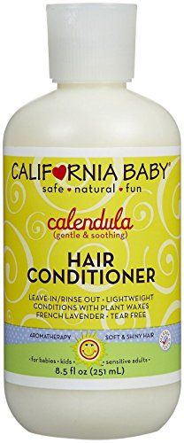 California Baby Calendula Hair Conditioner - 8.5 - Las California Americas