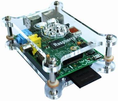 samtech cupé Pibow carcasa para Raspberry Pi B Plus, modelo B +
