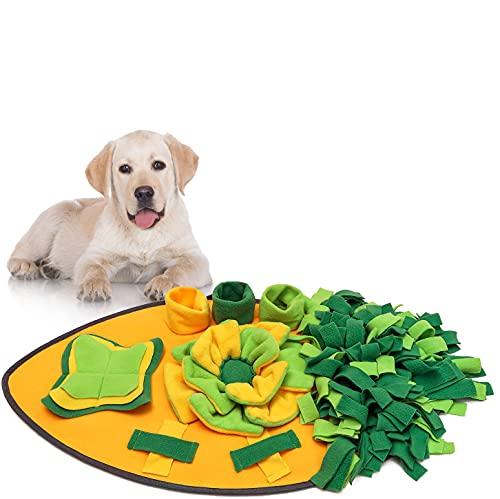 Anisity Schnüffelteppich für Hunde Schnüffelrasen Intelligenzspielzeug Schnüffelteppich Puzzle Spielzeug Haustier Matte…