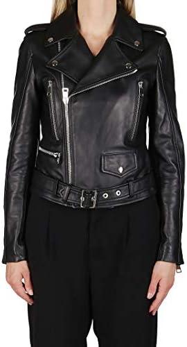 MANOKHI Luxury Fashion Femme A0000082BLACK Noir Cuir Blouson | Printemps-été 20