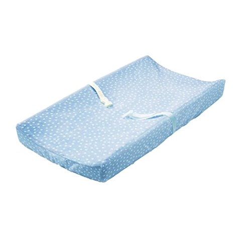Summer Infant Ultra Plush Changing Pad Cover 2-Count, Blue & Polka Dot by Summer Infant (Image #3)