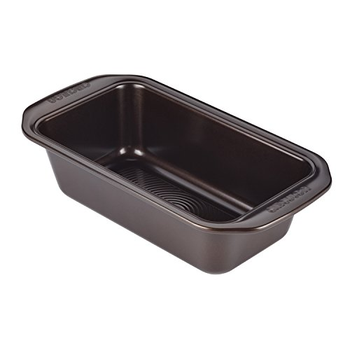 keware 9-Inch x 5-Inch Loaf Pan, Chocolate Brown (5 Inch Loaf Pan)