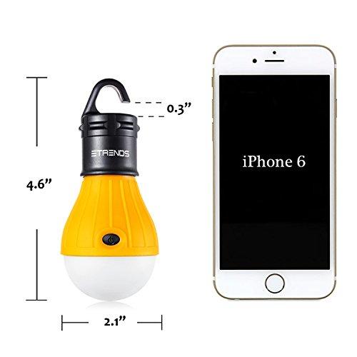 2 Pack E-TRENDS Portable LED Lan...