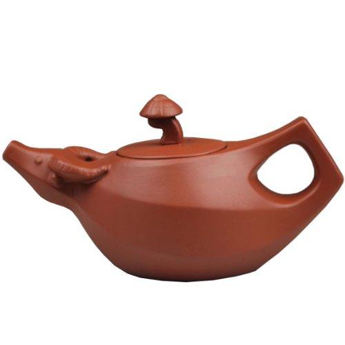 purple grit teapot - 1