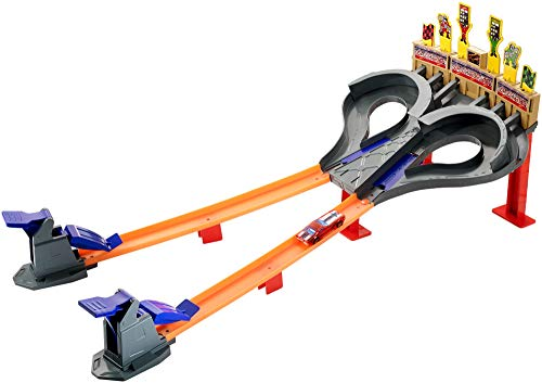 Checkered Flag Diecast - Hot Wheels Super Speed Blastway Track Set [Amazon Exclusive]