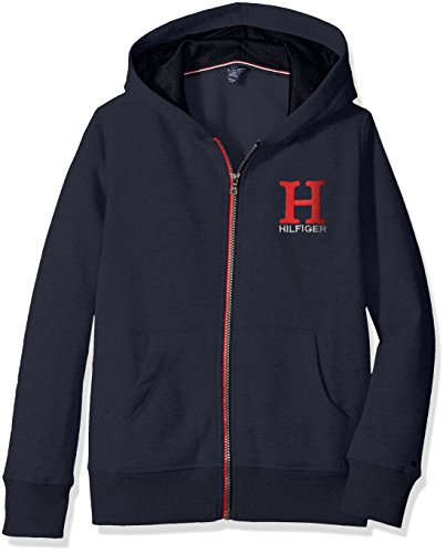 tommy-hilfiger-big-boys-long-sleeve-matt-logo-hilfiger-hoody-swim-navy-large