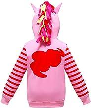Kids Girls Hoodies Coat Little Pony Rainbow Dash Hoodies Sweatshirts