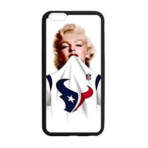 HipsterOne Custom Houston Texans Logo Marilyn Monroe Case For Ipod Touch 5 Cover (; Laser Technology)