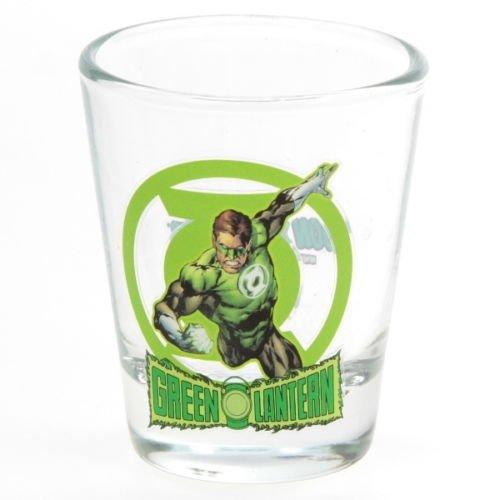 DC Comics Green Lantern Collectible Mini-Glass (Shot Glass Size) Toon (Marvel Green Lantern)