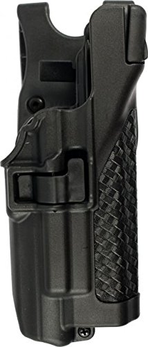 (Blackhawk SERPA Level 3 Light Bearing Duty Holster 44H500BW-R)