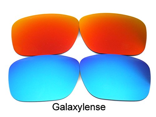 Rouge Lentilles Oakley rechange Bleu Galaxylense de pour hommes Holbrook paFPqCxw