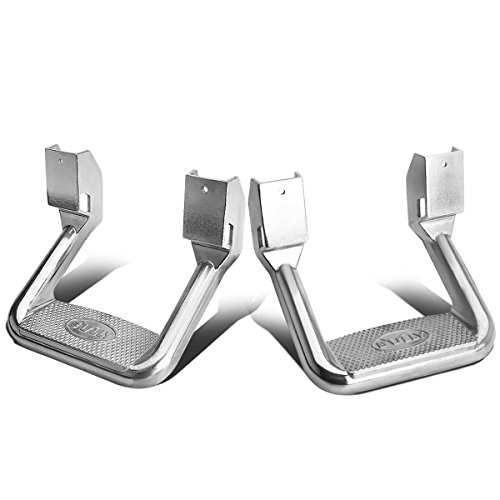 Bully AS-600 Aluminum Side Steps (2pcs) ()