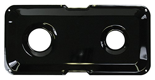 GE WB49K11 Double Drip Pan - Right Side