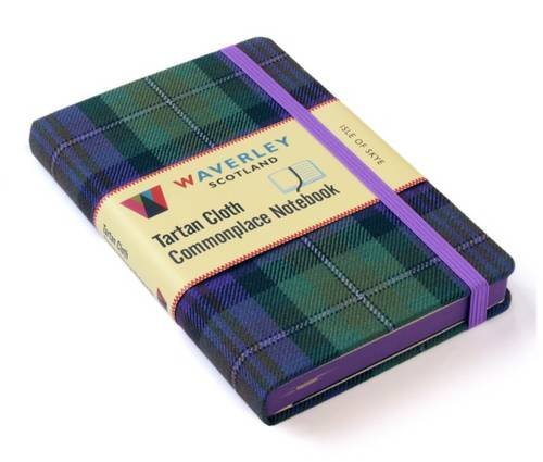 Isle of Skye: Waverley Genuine Tartan Cloth Commonplace Notebook (Waverley Scotland Tartan Cloth Commonplace Notebooks/Gift/stationery/plaid)