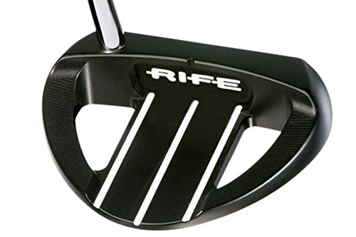 - Tour Issue Guerin Rife Barbados Black Putter Steel Right Handed 35 in