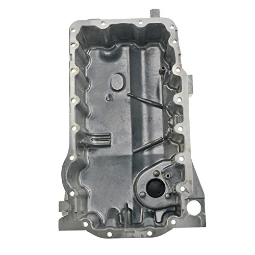 A-Premium Engine Oil Pan for Audi A3 2006-2008 TT Quattro 2009-2014 Volkswagen Jetta Passat GTI 2006-2008 Eos Golf R l4 2.0L ()