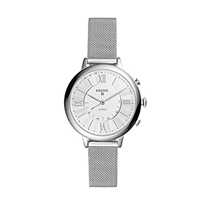Fossil Q Women's Jacqueline Stainless Steel Hybrid Smartwatch FTW5019 from Fossil Connected Watches Child Code