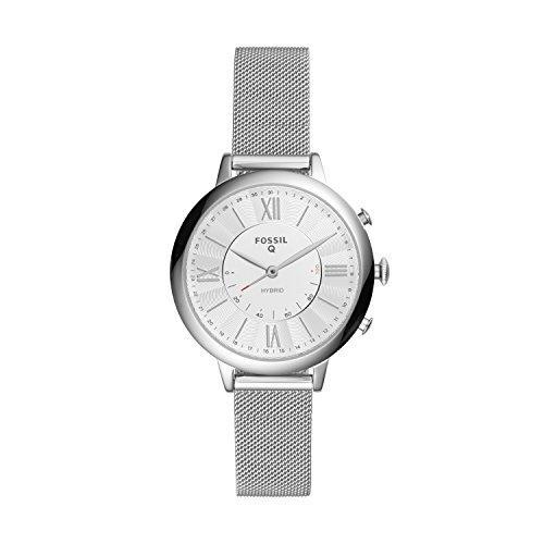 Fossil Q Women's Jacqueline Stainless Steel Hybrid Smartwatch FTW5019