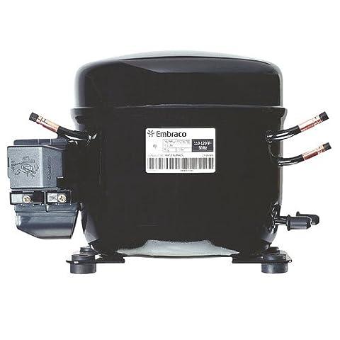 Embraco FF7.5HBK Replacement Refrigeration Compressor 1/5 HP R-134A R134A (Embraco Compressor)