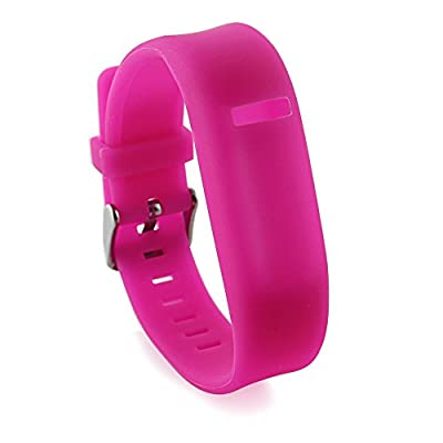 Niutop Newest Adjustable Replacement Wristband with a Secure Clasps for Fitbit Flex Band - No Tracker/ Wireless Activity Sport Fitbit Color Bands (peach)