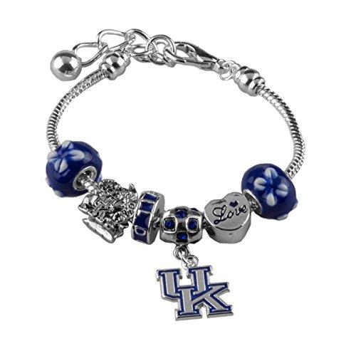 Sandol Kentucky Wildcats Amor Charm Bracelet