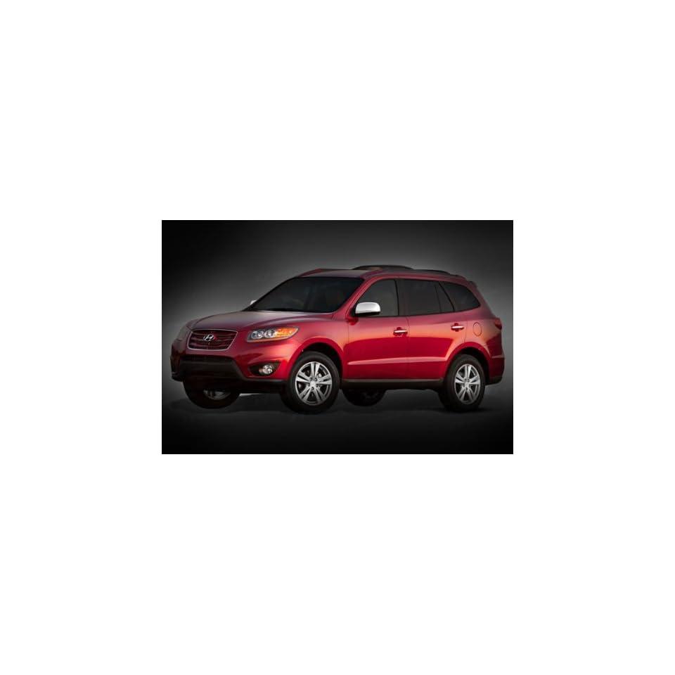 Hyundai Santa Fe 2007 2009 SES Chrome Mirror Covers