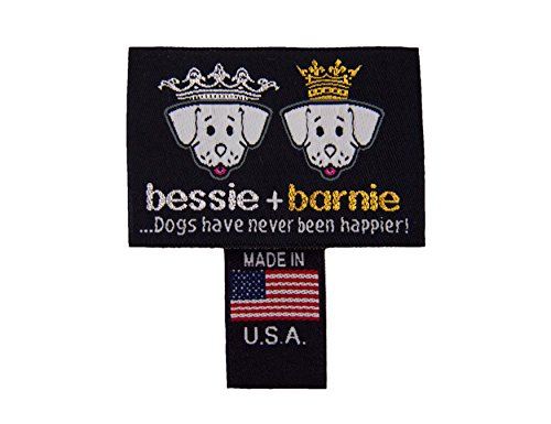 BESSIE AND BARNIE Ultra Plush Bubble Gum/Snow White (Patch) Luxury Shag Deluxe Dog/Pet Lily Pod Bed by BESSIE AND BARNIE (Image #2)