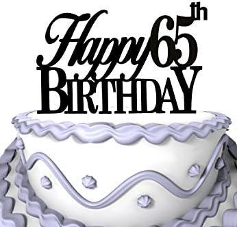 Admirable Happy 65Th Birthday Cake Topper 60Th Years Anniversary Cake Topper Funny Birthday Cards Online Inifodamsfinfo