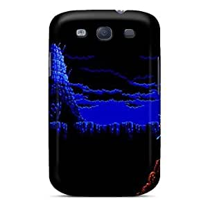 Galaxy S3 Case Cover - Slim Fit Tpu Protector Shock Absorbent Case (ninja Gaiden)