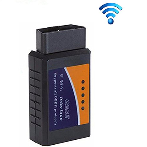 DSstyle Car Diagnostic Scanner(ELM 327 Wifi V1.5 OBD2 OBDII) PIC18F25K80 Chip OBD 2 Auto Code Reader Android/IOS Diagnostic-Tool - Support Android Smartphones, iOS and PC