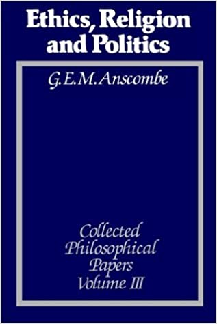 Book Ethics, Religion and Politics: The Collected Philosophical Papers, Vol. 3 (1991-01-15)