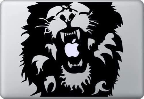 13 Black Lion Decal Sticker product image