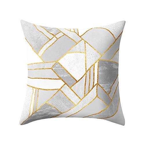 Digood Cozy Cashmere Throw Pillow Case Decorative Couch Cushion Cover Soft Sofa Euro Sham with Zipper Hidden, 18 x 18 Inch -