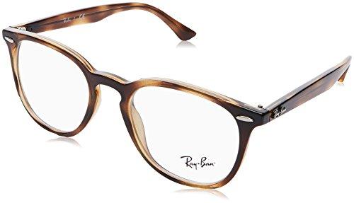 Ray-Ban RX7159 Square Eyeglass Frames, Tortoise/Demo Lens, 50 ()