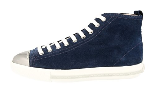 Leather Sneaker OMD Women's 5T9556 Trainers F073A Miu Miu Of1gwnqqH