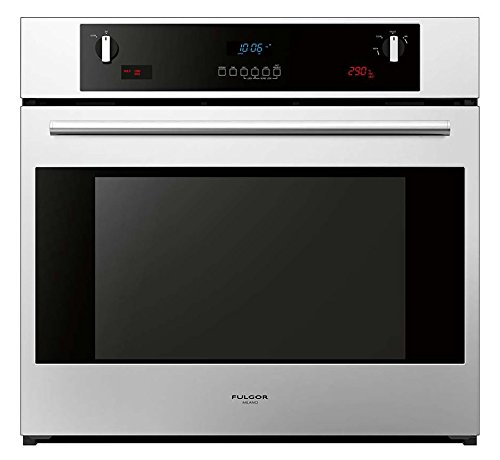 Fulgor Milano F6SP30S1 600 Series Dual Fan Multifunction Pyrolytic Oven, 30'', Stainless Steel by Fulgor Milano
